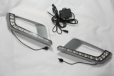 Fit Ford Ranger 2015-2016  Wildtrak 4x4 Front LED Day Light 2pcs