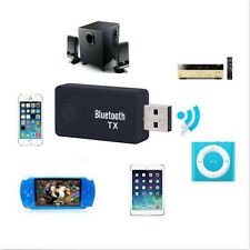 NEW Wireless Bluetooth 3.0 Music Transmitter 3.5mm Jack Stereo USB Audio Adapter