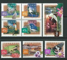 AUSTRALIA 1997 FAUNA AND FLORA 2nd SERIES UNMOUNTED MINT SET OF 8