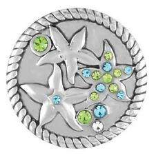 GINGER SNAPS™ STARFISH with STONES Jewelry - BUY 4, GET 5TH $6.95 SNAP FREE
