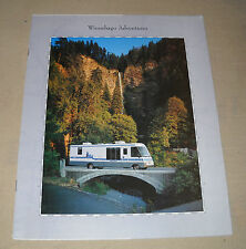 1994 WINNEBAGO ADVENTURER MOTOR HOME  SALES BROCHURE CATALOG