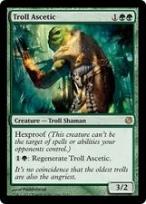 4x Asceta Troll - Troll Ascetic MTG MAGIC DD HvM Heroes vs. Monsters Eng