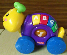Fisher Price Musical Talking Alphabet ABC Caterpillar Learning Toy on Wheels