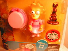 2003 The SIMPSON`s interactive fig WOS series 9 SUNDAY BEST LISA  non-mint card