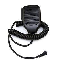 Tragbarer Lautsprecher-Mikrofon für Baofeng UV3R Radio Walkie Talkie Schwarz