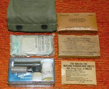 US MILITARY FIRST AID KIT, AVIATOR, CAMOUFLAGED VIETNAM SURVIVAL EMERGENCY KIT