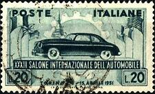 ITALIA REP. - 1951 - 33° Salone dell'Automobile di Torino - Usato