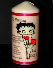 Betty Boop personalised keepsake candle unique collectable gift present  Mum #5