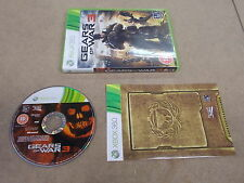 Xbox 360 Pal Game GEARS OF WAR 3 with Box Instructions