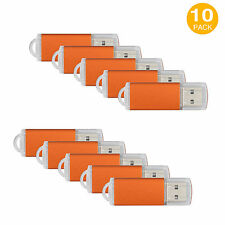 10PCS 16GB USB 2.0 Flash Drive High Speed Flash Memory Stick Thumb Drive Storage