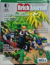Brick Journal May 2016 Lego Dinosaurs Visiting Jurassic Park FREE SHIPPING sb