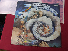 Moody Blues: Question of Balance AUSTRALIAN  1W/1W  1st Pressing + lyric insert