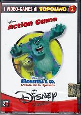 PC Gioco DISNEY ACTION GAME ♥ MONSTERS & CO. L'ISOLA DELLO SPAVENTO nuovo Ita
