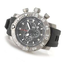14280 Invicta Sea Base Limited Edition Swiss Chronogra Titanium Strap Case Watch