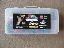 ROYAL LOOM CHILDRENS KIDS COLOURFUL ARM WRIST BAND SET,D.I.Y TRAVEL CASE STARBST