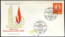 West Germany 1968 Human Rights Year FDC First Day Cover #C29197