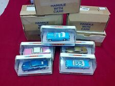 LOT of 5 Dinky Matchbox 1948 Tucker 57 bel air 53 Buick 58 studebaker 59 caddy