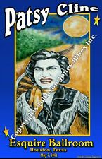 Poster of Patsy Cline by Cadillac Johnson