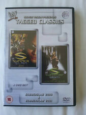 WWE Tagged Classics - Summerslam 2000 & 2001 DVD - WWF Rare & Deleted 00 01