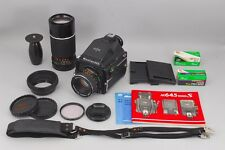 Exc++++ Mamiya M645 1000S Medium Format with Sekor C 80mm f2.8etc from Japan 127