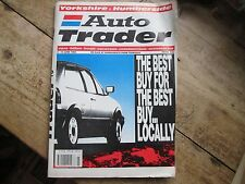 AUTO TRADER YORKSHIRE AND HUMBERSIDE 4 - 10 JUNE 1992 PRICE 60p