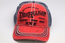 True Religion Men's Cap / Hat TR1009 TRUE RED Adjustable Size One Size Fits All