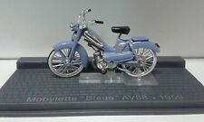 MOBYLETTE BLEUE AV88 1959 BIKE MOTO ALTAYA IXO 1/24