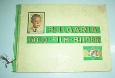 Bulgaria Gold - Film - Bilder Sammelbilderalbum um 1930 Movie stars Schauspieler