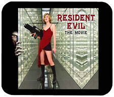 RESIDENT EVIL MOUSE PAD 1/4 IN. TV HORROR MOVIE MOUSEPAD