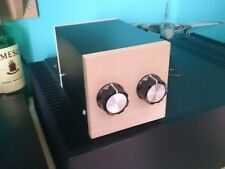 Bte designs passive preamp, pre amplifier customizable to your spec