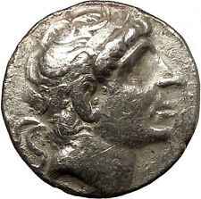 ANTIOCHOS I Soter 281BC Seleukid Ancient Silver GREEK Tetradrachm Coin i54366