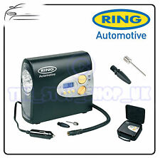 Ring 12v Car Automatic Digital Tyre Air Compressor Inflator Electric Pump RAC600