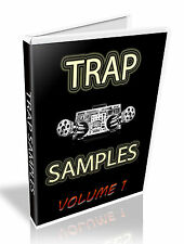 TRAP SAMPLE COLLECTION - STEINBERG HALION, CUBASE, NUENDO FXP - 2 DVD'S - 7.8 GB