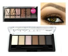 Technic Matte 6pc Eyeshadows with Double ended applicator