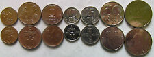 Norway set of 7 coins 1972-1996 (1+2+5+10+25+50 ore + 1 krone) UNC