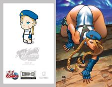 STREET FIGHTER LEGENDS CAMMY #1 • JJ's VARIANT • FRANK CHO • LIMITED TO 1000