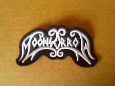 MOONSORROW   #   2,SEW ON WHITE EMBROIDERED PATCH