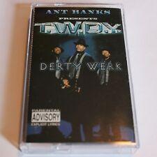 Ant Banks Presents T.W.D.Y. Derty Werk Cassette Tape Hip Hop SF Bay Area Rap