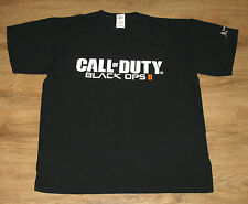 COD Call of Duty Black OPS II 2 very rare promo T-Shirt  Gamescom 2012 size L