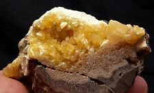 """Awesome 2.5"""" YELLOW CALCITE from Elk Creek, Meade County, South Dakota"""