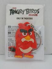 Angry Bird ~ Red PVC Silicone * Keyring - Bag Tag * Promo Give Away