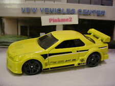 2016/2017 NIGHT BURNERZ Excl NISSAN SKYLINE GT-R (R32)☆Yellow☆LOOSE Hot Wheels