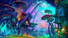 "QT00217 Psychedelic Trippy - Visual Mind Manifesting Art 43""x24"" Poster"