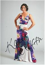 KAREN CLIFTON (NEE HAUR) - Signed 12x8 Photograph - STRICTLY COME DANCING