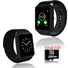 GT8 Wireless Bluetooth Watch Phone [AT&T/T-Mobile] Unlocked! FREE 32gb microSD