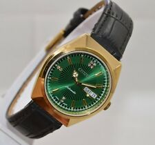 VINTAGE MEN'S CITIZEN 21 JEWELS DAY&DATE JAPAN MADE AUTOMATIC WRIST WATCH