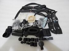 LAMBRETTA LI SERIES COMPLETE BLACK RUBBER KIT LI 150 NEW