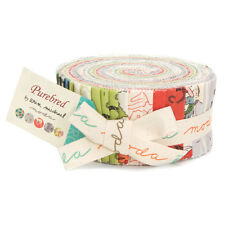 "Moda Jelly Roll - Purebred - 40 strips 2.5"" x 44"""