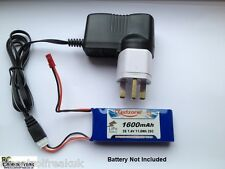 RC Model UK Mains All In One 7.4v Lipo, Li-ion Battery Balance Charger