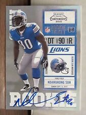 2010 Contenders Ndamukong Suh Rookie Ticket Auto       Dolphins RC Autograph a